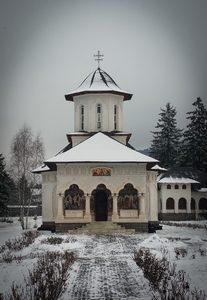 Hramul Paraclisului Mănăstirii Izvoru Mureșului