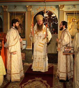 Slujire arhierească în Parohia Vâlcele