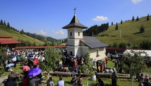 Hram la Mănăstirea Făgețel