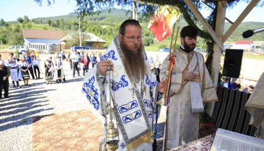 Slujire Arhierească în parohia Zăbrătău filia Crasna