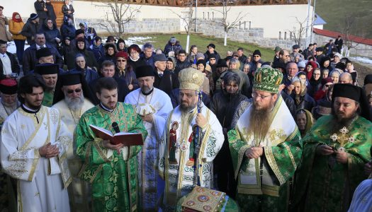 Sfințirea Paraclisului Mănăstirii de la izvoarele Trotușului
