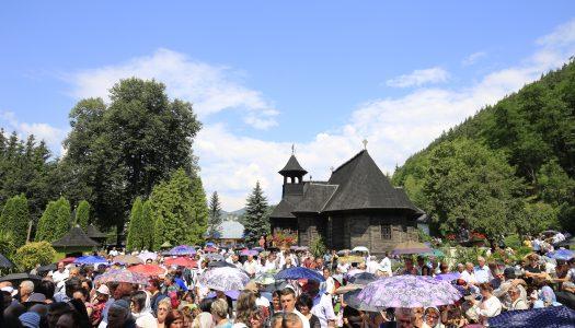 """Patru Ierarhi prezenți la hramul Mănăstirii """"Sfântul Prooroc Ilie Tesviteanul"""" din Toplița"""