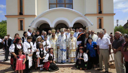 Biserica nouă din Prejmer a fost sfințită