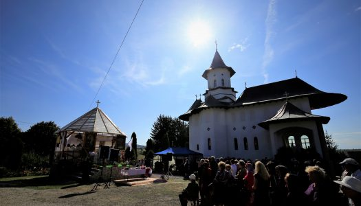 Slujire arhierească la Mănăstirea Doamnei din Moglănești   PS Andrei: Cifra 8 este simbolul veșniciei.