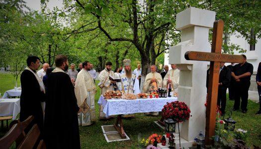"""Slujbă arhierească în parohia """"Sfinții Împărați Constantin și Elena"""" din Odorheiul Secuiesc."""