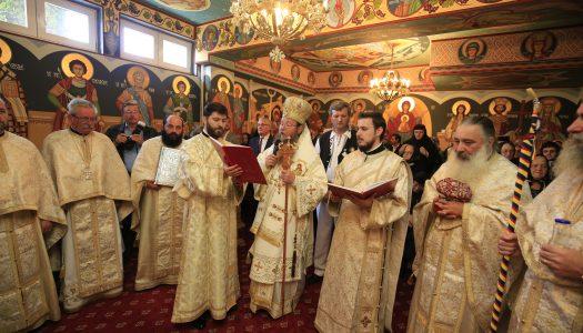 Sfințirea unui nou  locaș de închinare în localitatea Întorsura Buzăului,  Protopopiatul Buzăul Transilvan
