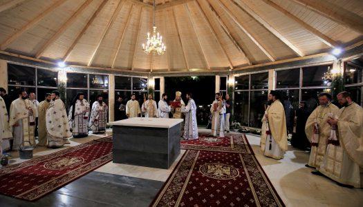 Cinstirea Icoanei Prodromița la mănăstirea Comandău