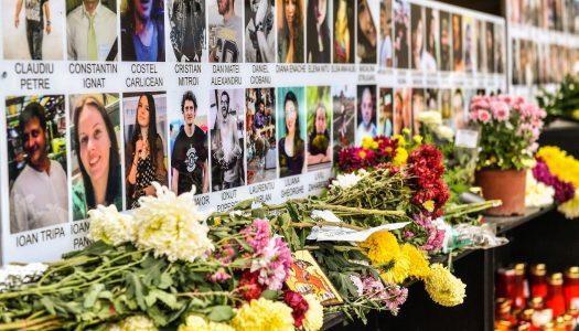 Slujbe de pomenire la trei ani de la tragedia de la Colectiv