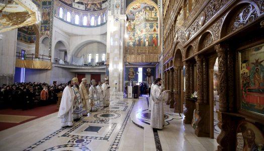 Duminica Izgonirii lui Adam din Rai la noua Catedrală din Deva