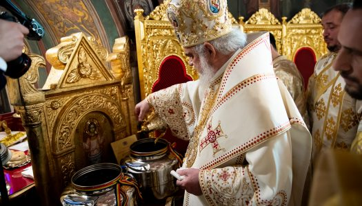 Marele Mir a fost sfinţit pentru a 22-a oară în cei 134 ani de autocefalie ai Bisericii Ortodoxe Române
