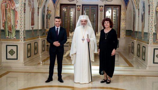 Ambasadorul statului Israel la Bucureşti în vizită de prezentare la Patriarhia Română