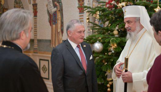 Noul ambasador al Statelor Unite ale Americii la Bucureşti în vizită de prezentare la Patriarhia Română