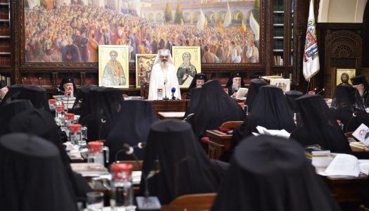 Ședinţă solemnă a Sfântului Sinod dedicată împlinirii a 30 de ani de la căderea regimului comunist